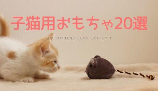 子猫が喜ぶおすすめの人気おもちゃ20選!一人遊びや噛むタイプも